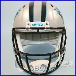 CAROLINA PANTHERS Riddell Full Size Speed REPLICA Helmet