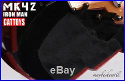 CATTOYS IRON MAN MK42 Helmet 11 MASK LED EYE COOL REPLICA DELUXE MODEL COSPLAY