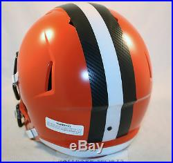 CLEVELAND BROWNS Riddell Full Size SPEED Replica Helmet