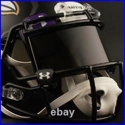 CUSTOM BALTIMORE RAVENS Full Size NFL Riddell SPEED Football Helmet