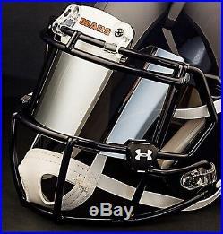CUSTOM CHICAGO BEARS Full Size NFL Riddell SPEED Football Helmet