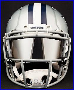 CUSTOM DALLAS COWBOYS Full Size NFL Riddell SPEED Football Helmet