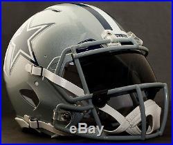 CUSTOM DALLAS COWBOYS NFL Riddell Revolution SPEED Football Helmet