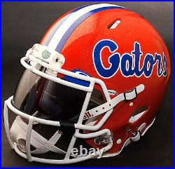 CUSTOM FLORIDA GATORS NCAA Riddell SPEED Full Size Replica Football Helmet