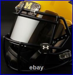 CUSTOM MICHIGAN WOLVERINES Riddell SPEED Full Size Replica Football Helmet