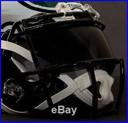 CUSTOM PHILADELPHIA EAGLES NFL Riddell Revolution SPEED Football Helmet