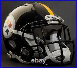 CUSTOM PITTSBURGH STEELERS NFL Riddell Full Size SPEED Football Helmet