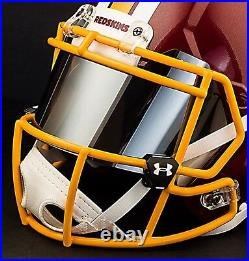 CUSTOM WASHINGTON REDSKINS Full Size NFL Riddell SPEED Football Helmet