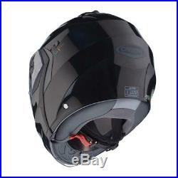 Caberg Duke 2 / II Flip Front Motorcycle Motorbike Smart Black Road Crash Helmet
