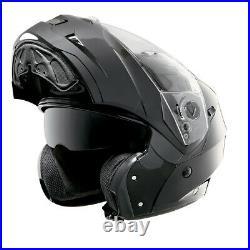Caberg Duke II 2 Smart Black Flip Front Modular Motorcycle Motorbike Helmet
