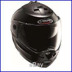 Caberg Klapphelm Duke Smart L Schwarz Integral Jet Motorrad Helm Bluetooth