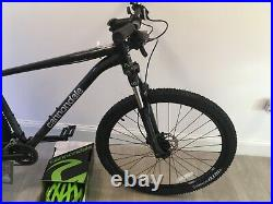 Cannondale Brand New Black Trail 7 Mens Mountain Bike 2021 Large & Cypher Helmet
