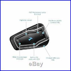 Cardo Scala Freecom 2 DUO Motorcycle Passenger Intercom Bluetooth Helmet Headset