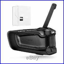 Cardo Scala Rider SmartPack Solo Motorcycle Helmet Bluetooth Intercom Headset