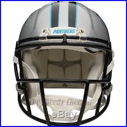 Carolina Panthers Riddell NFL Full Size Authentic Speed Football Helmet