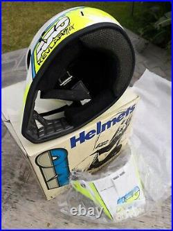 Casco Axo Mx Vintage Cross Helmet Nos No Bell Shoei Arai Nolan Nava