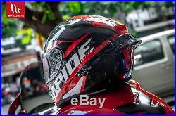Casco Integrale In Carbonio Racing Mt Helmets Rapide Pro Carbon Rosso Red Ducati