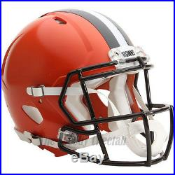 Cleveland Browns Riddell NFL Full Size Authentic Speed Football Helmet