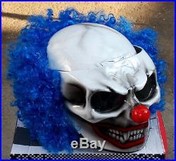 Clown Killer Clown Custom Airbrush Motorcycle Helmet