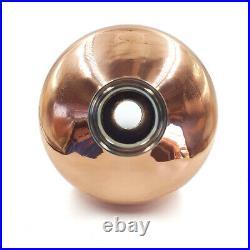 Copper alembic helmet Column still Onion Bulb 3