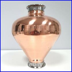 Copper whiskey alembic helmet Column still Onion Bulb 4