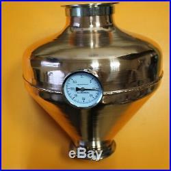 Copper whiskey helmet & Column Onion Bulb 4 Flute still Moonshine Distiller