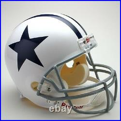 DALLAS COWBOYS 1960-1963 NFL Riddell FULL SIZE Replica Football Helmet