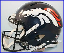 DENVER BRONCOS Riddell Full-Size Speed Authentic Helmet