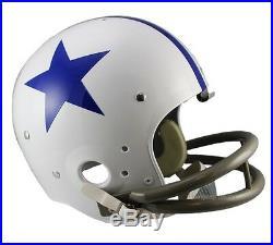 Dallas Cowboys 60-63 Tk Throwback Full Size Football Helmet