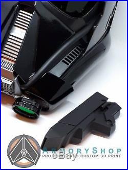 DeathTrooper Helmet Mk3 Star Wars Rogue One Death Trooper by ArmoryShop