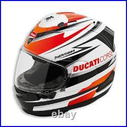 Ducati Corse Speed Motorcycle Motorbike Arai RX-7V Helmet L Large 98104051 SALE