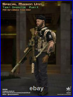 Easy&Simple ES26030B 1/6 PSDSpecial Mission Tracking Group Soldier 12 Figure