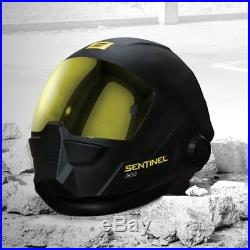 Esab Sentinel A50 Welding Helmet Mask C/w 4 Spare Antiscratch Lenses