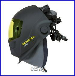 Esab Sentinel Airfed Welding Shield Helmet c/w PAPR for air FREE UK/IRE SHIP