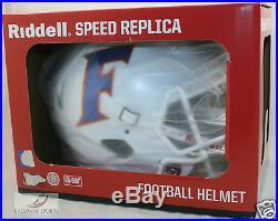 FLORIDA GATORS (WHITE ALTERNATE) Riddell Full Size SPEED Replica Helmet
