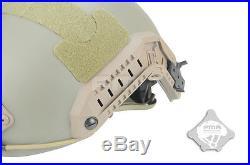 FMA Ballistic IIIA Bullet Proof Helmet Aramid Fiber Maritime OPS TYPE TB827 M/L