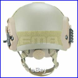 FMA Bulletproof Ballistic IIIA Maritime Helmet Aramid Fiber OPS L/XL Adjustable