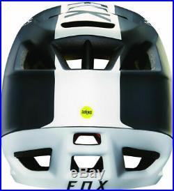 FOX Proframe Libra Full Face MIPS MTB Helmet Black/White S (52-56cm)