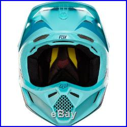 FOX V3 SECA LE ROCZEN MOTOCROSS MX HELMET ICE BLUE enduro bike mtb bmx MIPS