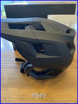 FOX mtb Drop Frame Helmet Mountain Biking Medium