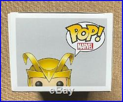 FUNKO LOKI GOLD HELMET pop vinyl #16 MARVEL SDCC 2012 LE480 EXCLUSIVE GRAIL THOR