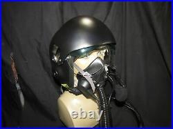 Fighter Pilots Helmet WIth Twin Visor & Prop Oxygen Mask. This is cosplay prop