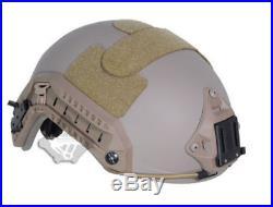 Fma Ballistic Iiia Bullet Proof Helmet Aramid Fiber Maritime Ops Type M/l