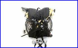 For Brompton Bag Lifting Backpack Bicycle Cover Helmet Portable Convenient Black