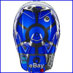 Fox Racing V3 MX Offroad Helmet Star Wars R2D2 Limited Edition Adult Large