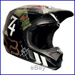 Fox Racing V4 Carbon Off Road MX Helmet Machina Camo Medium MD Closeout