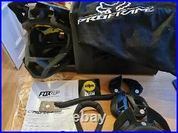 Fox racing matte Black large proframe full face mtb helmet MIPS