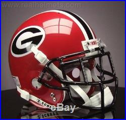 GEORGIA BULLDOGS NCAA Schutt XP Full Size AUTHENTIC Gameday Football Helmet