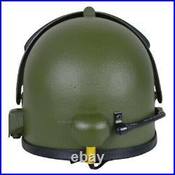 Gearcraft Altyn Russian Helmet Replica with Vizor and Radio Olive SOBR FSB