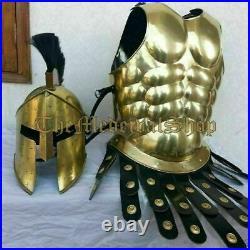 Greek Corinthian Helmet Medieval Roman Helmet Ancient Armor Helmet Muscle Jacket